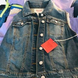 NWT Jean Vest jacket ! Very bohemian ! Size small